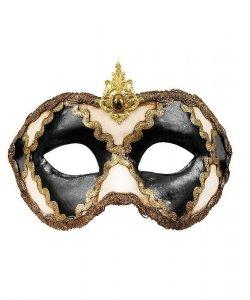 Maska wenecka - Colombina Scacchi VIII