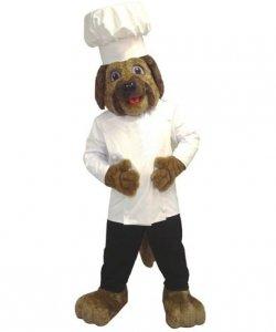 Strój chodzącej maskotki - Pies Kucharz
