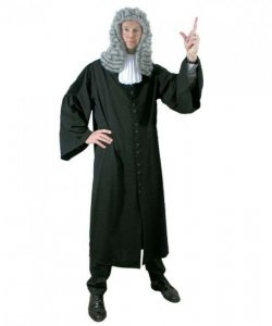 Kostium teatralny - Sędzia