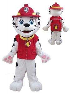 Strój chodzącej maskotki - Psi Patrol Marshall Deluxe