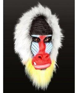 Maska lateksowa - Mandrill