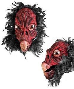 Maska lateksowa - Sęp