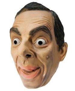 Maska lateksowa - Jaś Fasola (Mr. Bean)
