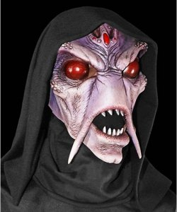Maska lateksowa - UFO Alien