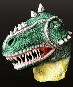 Maska lateksowa - Dinozaur