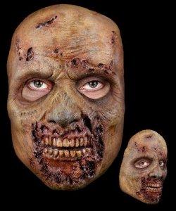 Maska lateksowa - The Walking Dead Zombie z farmy