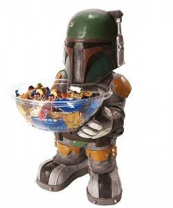 Ozdoba - Stojak na słodycze Star Wars Boba Fett 50 cm