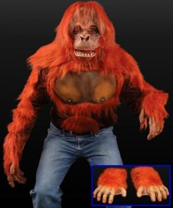 Strój reklamowy - Orangutan