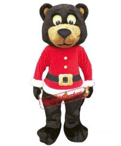 Strój chodzącej maskotki - Christmas Teddy