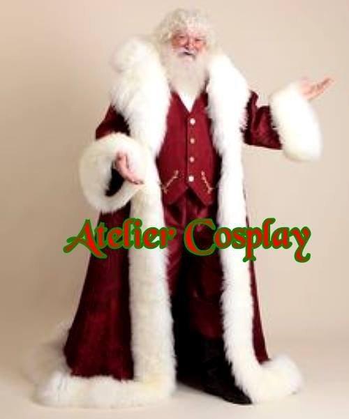 Profesjonalny strój Świętego Mikołaja - Św. Mikołaj Premium V
