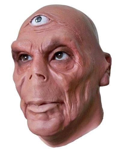 Maska lateksowa - UFO Cyklop