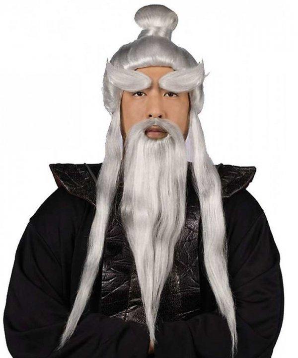 Peruka i broda mistrza Kung-Fu
