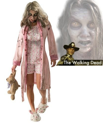 Kostium z filmu The Walking Dead - Little Girl Zombie