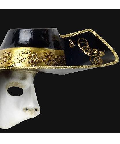 Maska wenecka - Fantasma dell Opera Cappello