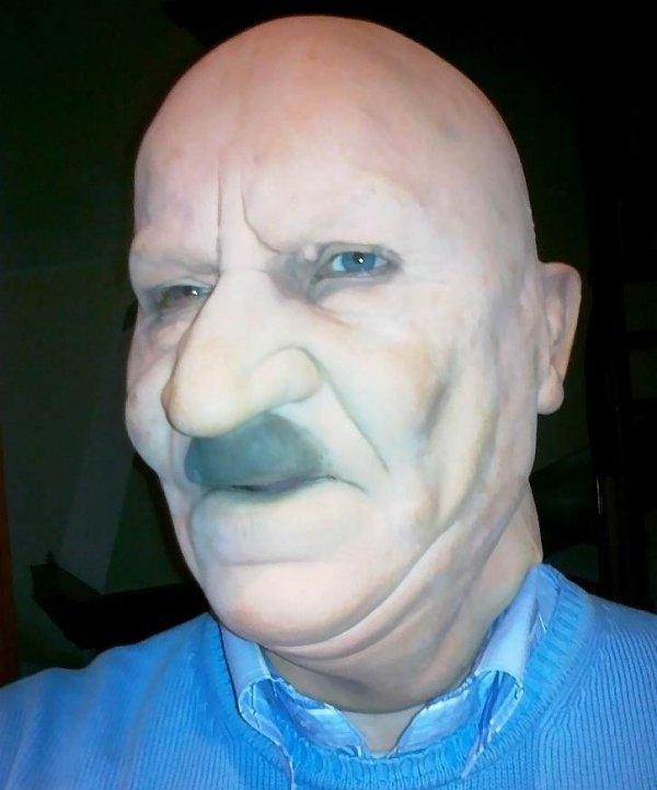 Staruszek Herbert maska z lateksu