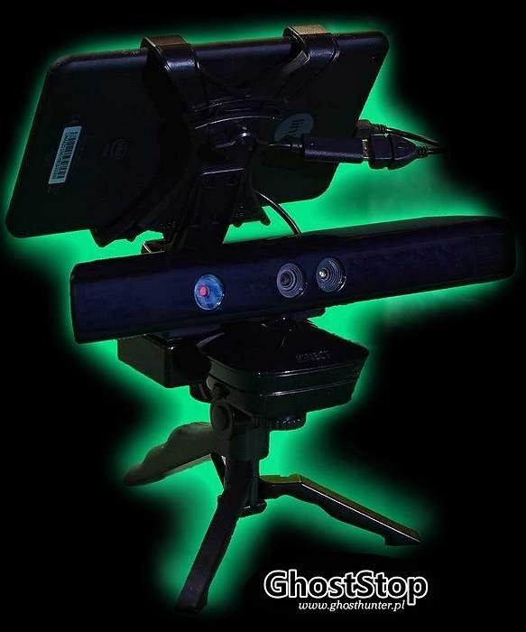 Kamera SLS Kinekt 360 do badań zjawisk paranormalnych