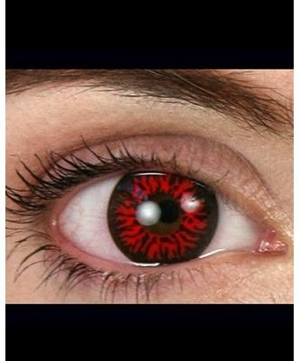 Szkła kontaktowe - Demon