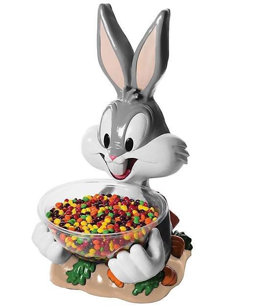 Ozdoba - Stojak na słodycze Bugs Bunny 50 cm