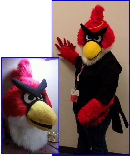Strój reklamowy - Angry Birds I