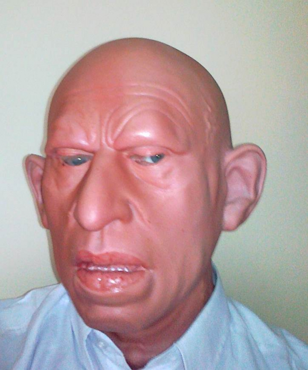 Staruszek Rudi maska