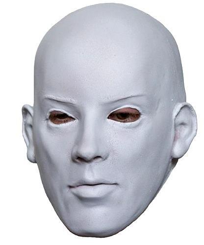 Maska lateksowa - Biała twarz