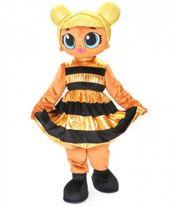 Chodząca żywa maskotka duży pluszak kostium reklamowy strój LOL Surprise Doll Queen Bee