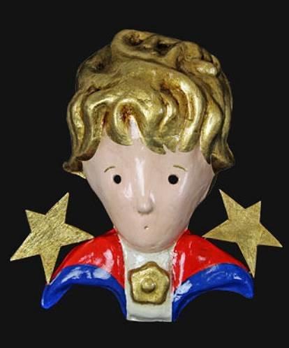 Maska wenecka - Piccolo Principe
