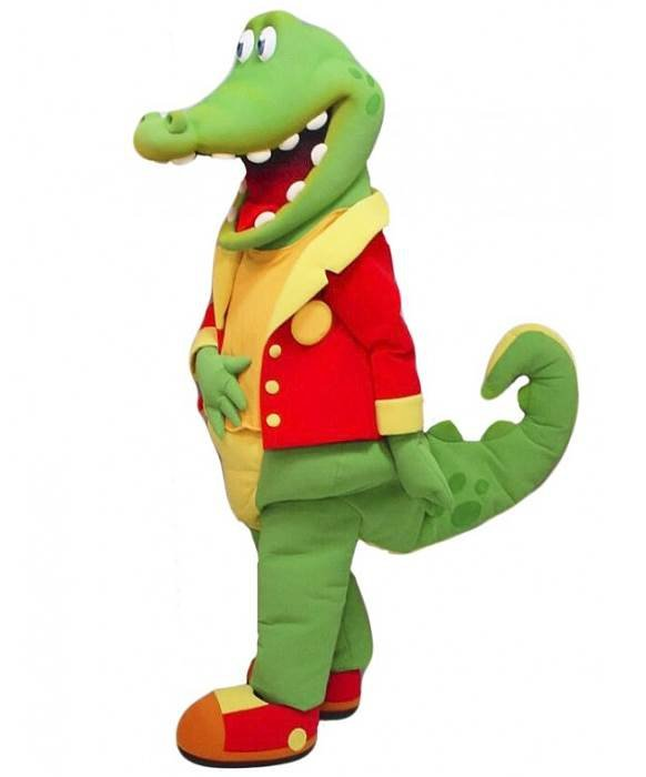 Strój chodzącej maskotki - Krokodyl 12