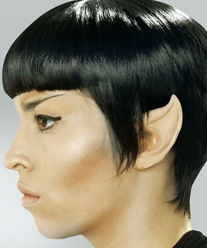 Sztuczne uszy - Uszy Star Trek Spock