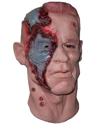 Maska lateksowa - Terminator