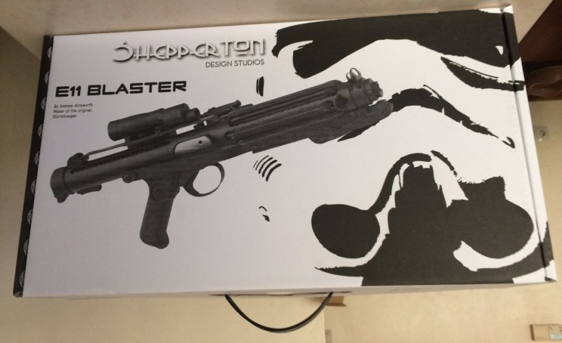 Star Wars Stormtrooper Blaster E11 Replika