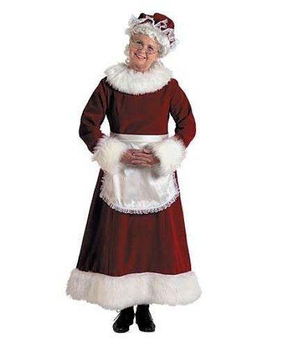 Kostium świąteczny - Pani Mikołajowa 4