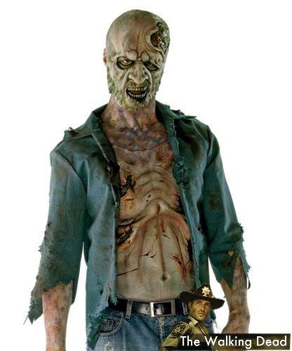 Kostium z filmu The Walking Dead - Zombie