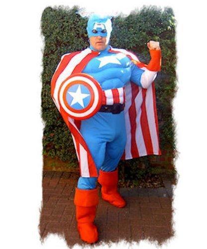 Kostium z filmu Kapitan Ameryka