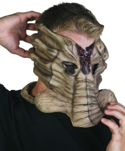 Maska lateksowa - Alien Face Hugger