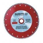Tarcza diamentowa 230 mm do cięcia asfaltu silki chudego betonu RB-9 ciągła, karbowana 230 x 2,4 x 6 x 22.2mm