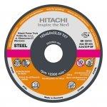 HITACHI Tarcza do szlifowania stali A24P 180x6,0x22,2mm - STANDARD