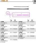 Beta 1748/3K Opaski samoblokujące z nylonu opak. 100