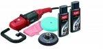 Polerka z regulacją prędkości obrotowej FLEX L 602 VR-Set i wariantami uchwytu w zestawie (329.819)
