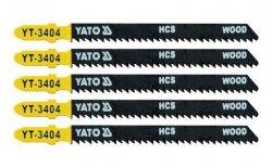 YATO Brzeszczot do WYRZYNARKI typ T 5szt YT-3404