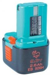 EB926H Akumulator bateria 9,6V 2.6Ah Ni-MH