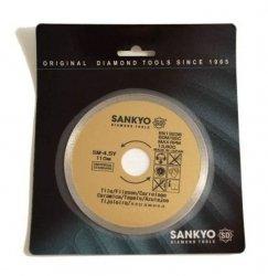 Tarcza diamentowa 150 mm do cięcia glazury ceramiki szkła terakoty SM-6Y ciągła 150 x 1,4 x 5 x 22,2mm