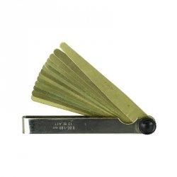 LIMIT Szczelinomierz płytkowy mosiężny 0,05-0,5mm