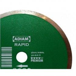 Adiam tarcza diamentowa RAPID Ø125mmx22,23mm