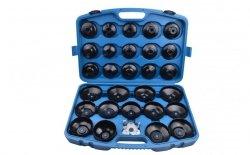 Zestaw kluczy nasadowych do filtrów oleju 30szt.  QS60038
