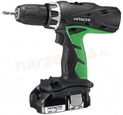 Hitachi Wiertarko-wkrętarka udarowa 18v 2x1,5ah DV18DCL2