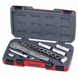 Zestaw kluczy nasadowych z chwytem  kwadratowych 1/2 Tengtools TS1218