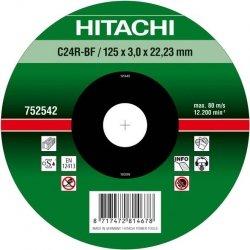 HITACHI Tarcza do cięcia kamienia 125x3x22,2mm wypukła - PREMIUM