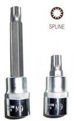 Jonnesway Klucz wpustowy SPLINE M5x100 z nasadką 1/2 S64H4205