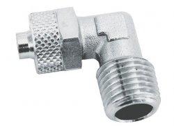 ADLER Złączka L zaciskowa 1/8z -8x6mm